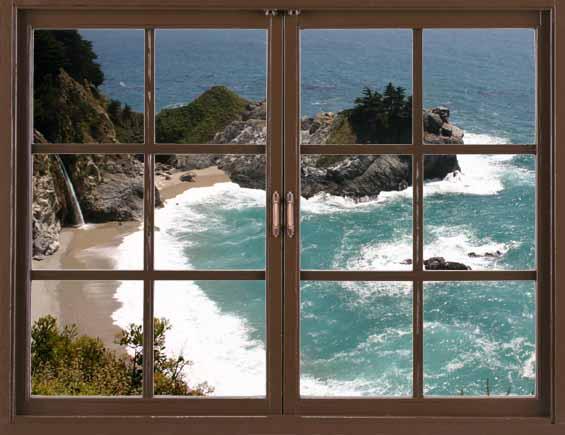 Фальш окно фото