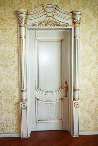 классические арочные входные элитные двери