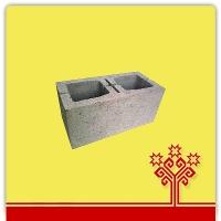 Блок керамзитобетонный 2-х пустотный облегченный  КСР-ПР-ПС-39-35-50-1050