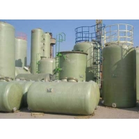 Емкость питьевая  стеклопластиковая 15м3 D-1600мм, H-7600мм