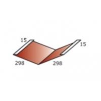Доборный элемент (планка ендовы нижней)