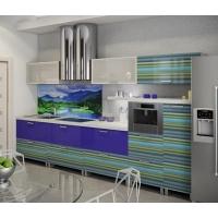 Кухня «Космо» фасад пластик Гармония-Мебель цена за п.м.