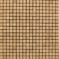 Мозаика из натурального мрамора Crema Marfil чип 10*10 мм
