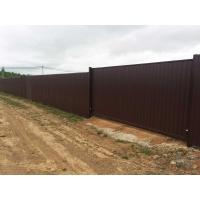 Реализуем откатные металлические ворота готовые к монтажу.