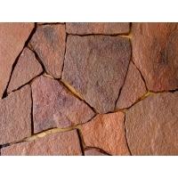Песчаник красный, рваный, 15-20мм