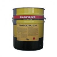 Эластичное полиуретановое защитное покрытие TOPCOAT-PU 720 ISOMAT Греция