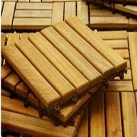 Садовый паркет, декинг, деревянная плитка