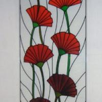 Триплекс декоративный, стеклянный фартук, художественные витражи