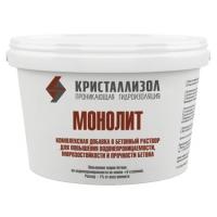 Добавка в бетон Кристаллизол МОНОЛИТ