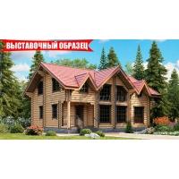Деревянный дом по проекту 7885 Терем РУСТЕРЕМ