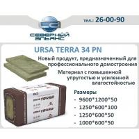 Минеральная изоляция URSA TERRA 34 PN