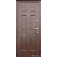 """Стальная входная дверь  ТД 71 мт, фирма """"Теплые двери"""" Китай"""