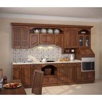 Кухня «Гармония» фасад массив ясеня Гармония-Мебель цена за п.м.