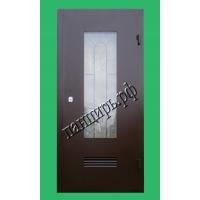 Металлическая дверь в котельную