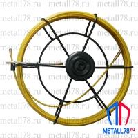 Протяжка для кабеля 3,5 мм 15 м в малой кассете (УЗК)