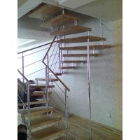 Лестницы на больцах  Комбинированная