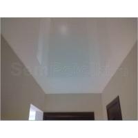 Натяжной потолок лаковый белый (Россия)