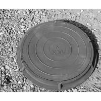 Люк полимер-песчаный канализационный