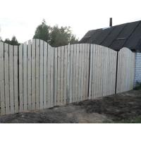 Деревянный Забор. Установка деревянного забора.  Производство продажа
