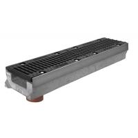 бетонные лотки DN-100, DN-150, DN-200, DN-300, DN-400 Гидролика