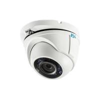Антивандальная купольная HDTVi видеокамера RVi RVi-HDC311VB-AT