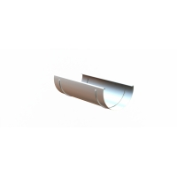 Соединитель желоба LINKOR (алюминий 1,2мм)  Диаметр 150мм