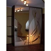 зеркало и стекло с пескоструйным матовым рисунком