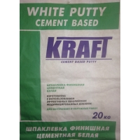 Шпаклевка финишная KRAFT белая на полимерной основе