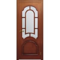 """Двери межкомнатные Матадор Дверное полотно""""Аврора"""" (макоре)/ орех"""