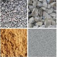 Песок и щебень (любых видов), керамзит