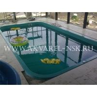 бассейн композитный Акварель