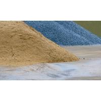 Песок, щебень и прочие сыпучие материалы