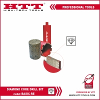 Алмазная туннельная коронка тип BASIC-RE HTT-tools