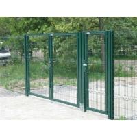 Металлические сварные ворота  распашные 1700x4000, 2000x4000