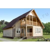 Готовые домокомплекты каркасных домов