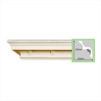 Потолочный полиуретановый карниз Gaudi Decor C1006