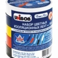 Набор цветных электроизоляционных лент UNIBOB