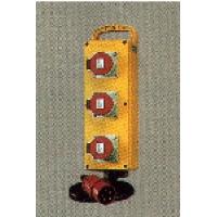 Комплектные устройства в корпусах из твердой резины EverGUM - га Mennekes габаритный корпус 445х135мм (3 розетки)