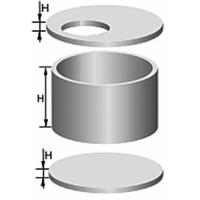 Кольца колодезные (стеновые)  КС