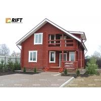 Проект дома из оцилиндрованного бревна  (216 м2)  Коттедж XX13