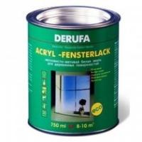 Эмаль для деревянных поверхностей Derufa Acryl-fensterlack