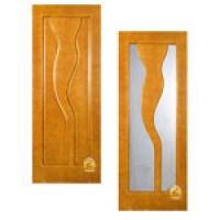 """Межкомнатная филенчатая дверь из массива сосны """"Водопад&amp"""