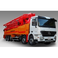 Автобетононасос KCP Heavy Industries CO 52ZX170 на шасси MERCEDES BENZ 4141