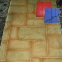Штампы для бетона и штукатурки - Сланец тёсаный