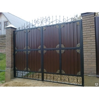 Кованые ворота АртГефест
