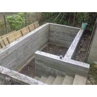 Погреб строительство. Монолитный бетонный погреб. Ремонт погреба