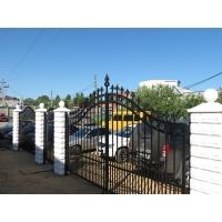 Ворота с калиткой в комплекте от Компании Красивые заборы