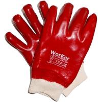 Перчатки с полным ПВХ покрытием WorKer per1080