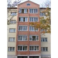 Алюминиевая раздвижная балконная рама Алюмакс 3х1,5