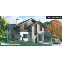 Проект комбинированного дома 54-99 Вертикаль 54-99